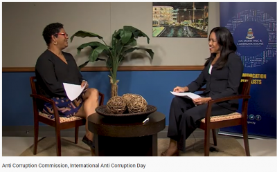 Anti-Corruption Commission: International Anti-Corruption Day 2020 Interview