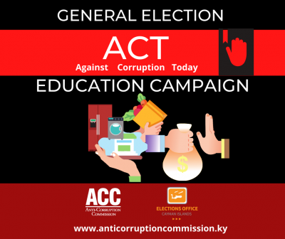 The Anti-Corruption Commission joins with the Elections Office to launch Election Education Campaign